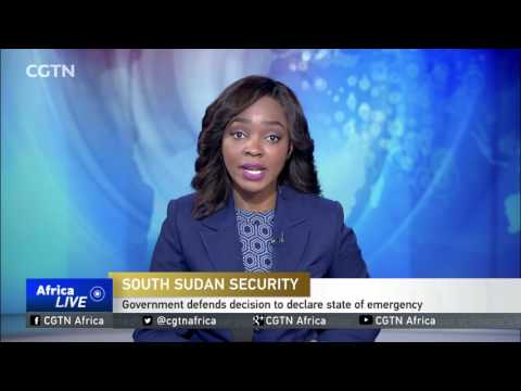 South Sudan defends decision to declare state of emergency