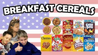 German Kids try Cereals from the US