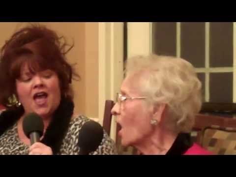Rebecca Leona Lewis Sings at assisted living in Kingsport Tn. Oh Holy Night !