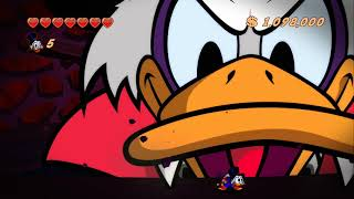 DuckTales Remastered Walkthrough Finale - Mount Vesuvius - Final Boss & Credits (Dracula Duck)