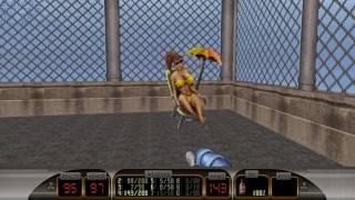 Let's Play: Duke Nukem 3D: Duke Caribbean: Life's a Beach - Level 1 - Caribbean Catastrophe