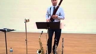 Piazzolla Tango Etudes III. 3. Molto marcato e energico, Bret Pimentel, bassoon