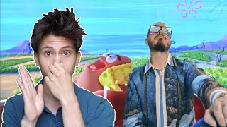 REACCION Tainy, J Balvin - Agua (Music From Sponge On The Run Movie/Official Video)