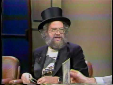 Dr Demento on Late Night with David Letterman from 1983