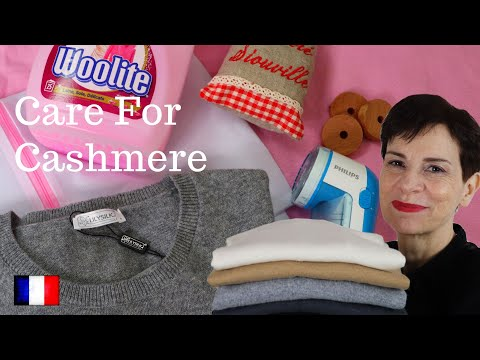 🇫🇷 HOW FRENCH WOMEN CARE FOR CASHMERE & WOOL SWEATERS