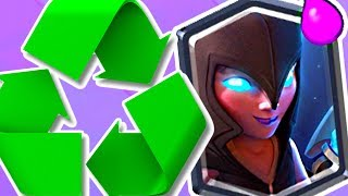 FUN FAST CYCLE NIGHT WITCH! - Clash Royale