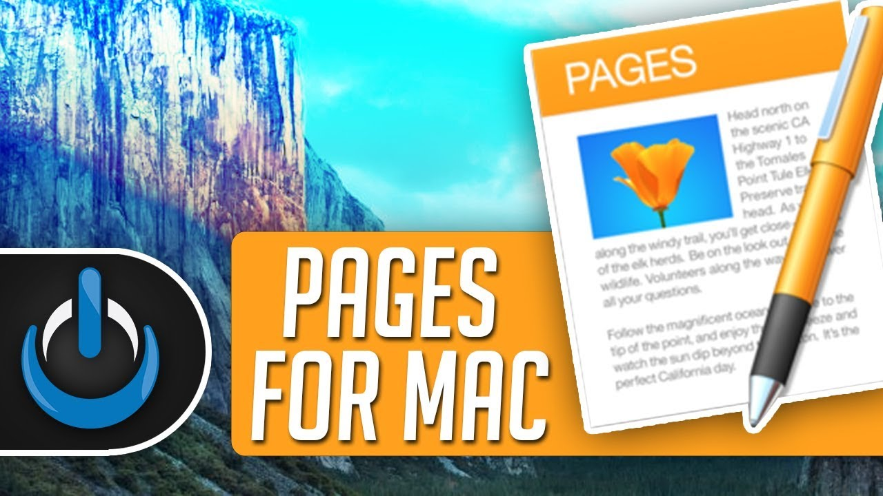 Pages for Mac - 2019 Tutorial