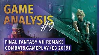 Combat & Gameplay - FFVII Remake E3 2019 | Game Analysis #9