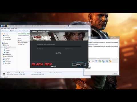 How to install Tomb Raider 2013 -Black Box  [HD] Working 100%