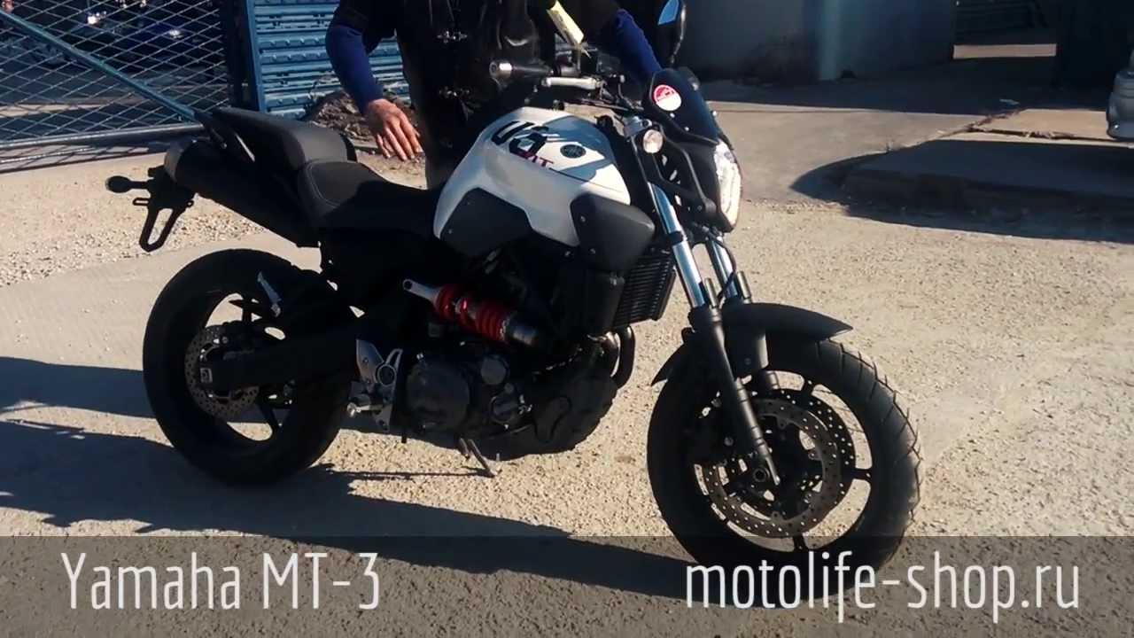 Yamaha MT 07 Tracer 700 Обзор на