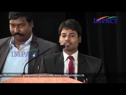Law of Attraction by Venu Kalyan at IMPACT SEPT  2015