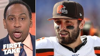Stephen A. blames the Ravens' defense for the Browns' dominant win   First Take