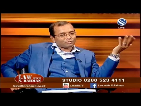 Law With N Rahman Live Stream  15 September 2018 at Channel S SKY 734