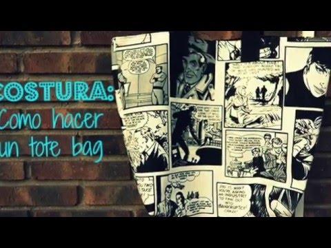 Cómo hacer un bolso TOTE BAG | TUTORIAL