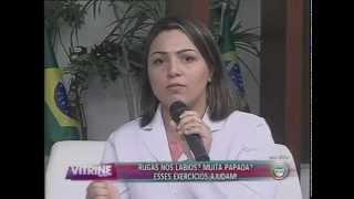 Fonoaudióloga ensina exercícios para os lábios e papadas (13/05)
