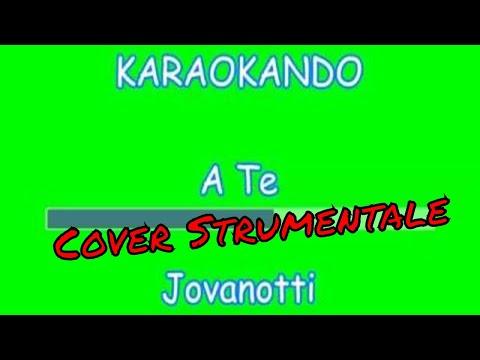"Karaoke Italiano - A Te - Lorenzo Cherubini "" Jovanotti"" (Testo)"