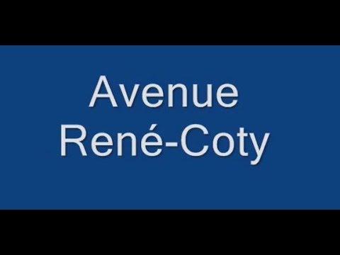 Avenue René Coty Paris