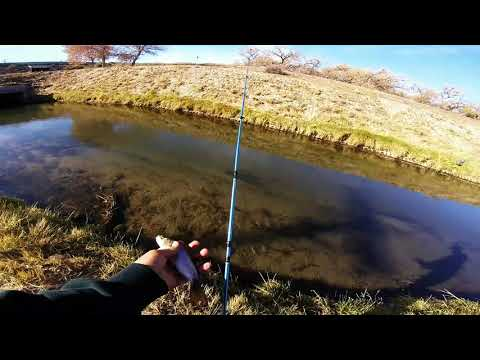 New Mexico Drain Ditch Fishing