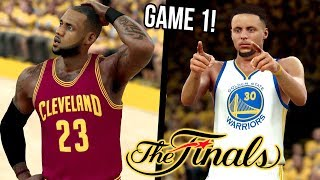 Warriors VS Cavaliers NBA FINALS GAME 1 2K17 SIMULATION! + SHOE GIVEAWAY