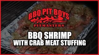 Bbq Shrimp With Crab Meat Stuffing Recipe