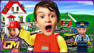 We turned our house into a LEGO City!! 😮- Epic LEGO Movie