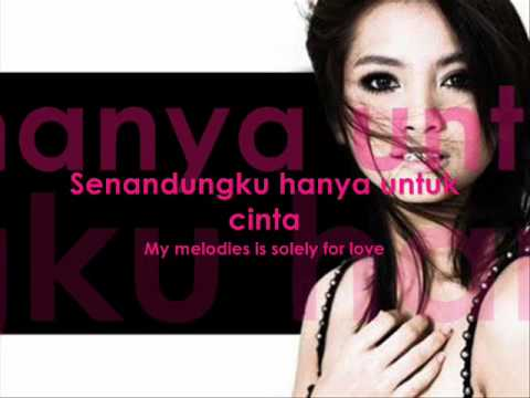 Acha Septriasa Sampai Menutup Mata with Lyrics and English Translation