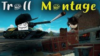 Tanki Online - TROLL MONTAGE #3 / funny video (Смешные Моменты)