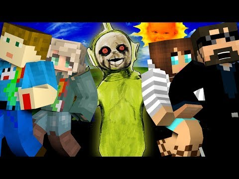 Minecraft: TELETUBBIES MURDER | MODDED MINI-GAME