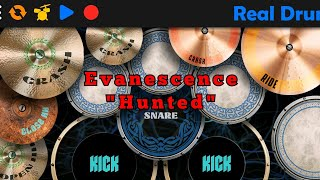 Evanescence Hunted-Real Drum Covert By Fajri