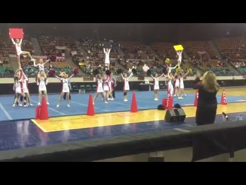 Castle View cheer wins 2015 4A/5A co-ed championships