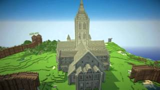 Minecraft Cathedral 2