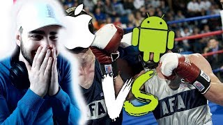 Apple VS. Android - VARION REAKTION😂
