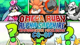 FIRST ROUTE MEGAS!? INSANE! | Pokemon Omega Ruby Alpha Sapphire RANDOMIZER Nuzlocke Co-Op #1