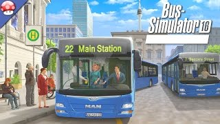 Bus Simulator 16: Gameplay (PC HD)
