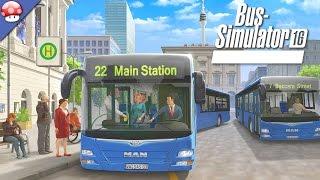 Bus Simulator 16: Gameplay (PC HD)