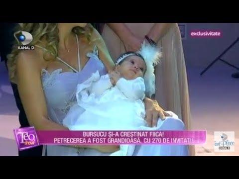 Teo Show (08.10.2018) - Imagini EXCLUSIVE de la botezul fetitei lui Bursucu! Partea 4