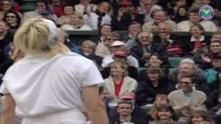 Novotna v Sanchez-Vicario: Classic Wimbledon Rally