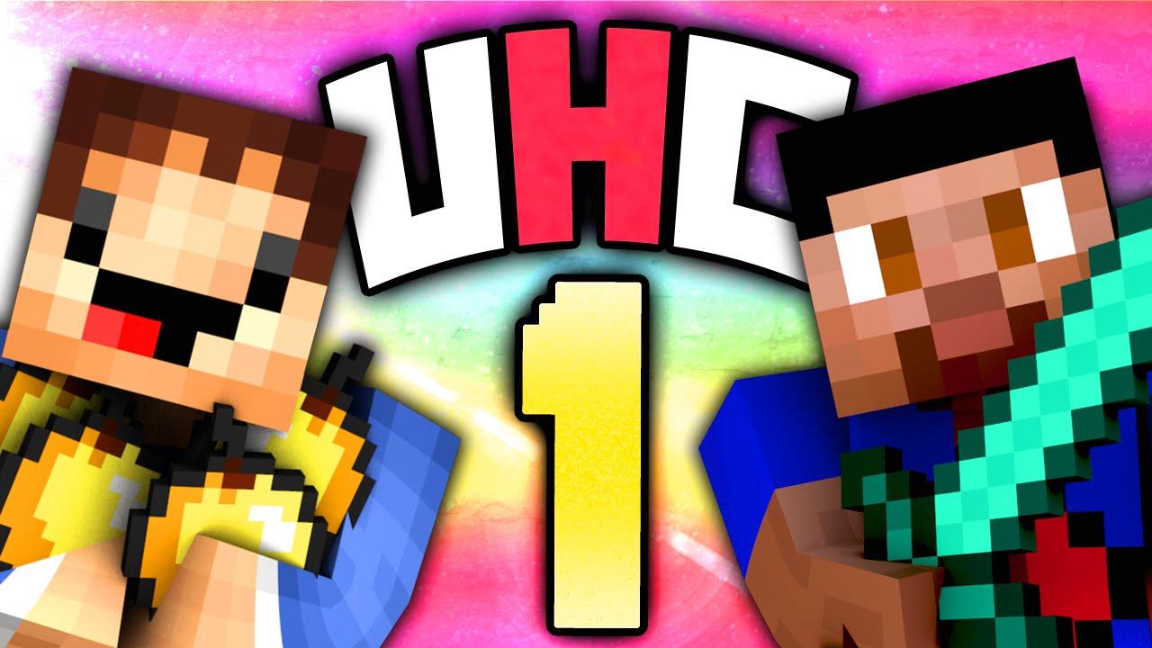 Minecraft UHC #12 (Season 122) - Ultra Hardcore with Vikkstar & Woofless