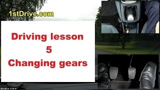 Driving lesson 5 - changing up gears