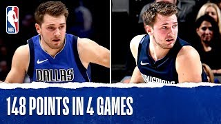 Luka Doncic FULL Highlights - 148 PTS in 4 Games!!