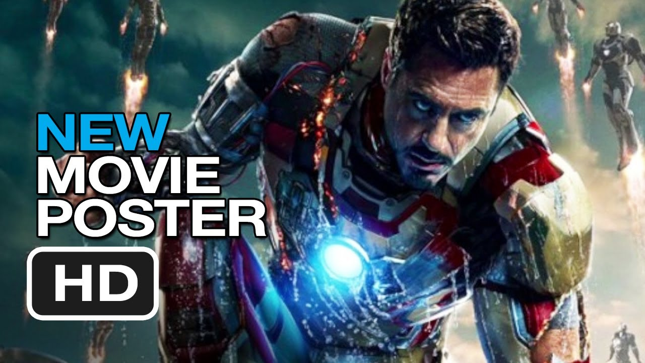 Iron Man 3 - New Movie Poster (2013) - Marvel Movie HD ...