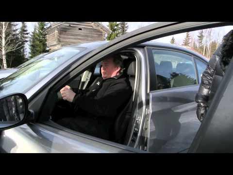 Körställning i bilen