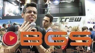 BGS 2014 Estande Ubisoft 2 The Crew E Frustração Em Outro Estande CJBr