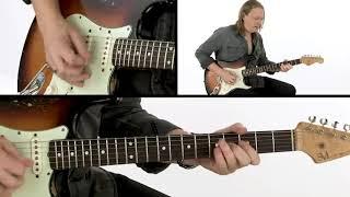 Matt Schofield Guitar Lesson - West Side 12/8 Blues Performance - Blues Speak