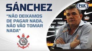 'NÃO VAMOS PERDER O ESTÁDIO': Andrés Sanchez comenta notificação de dívida da Arena