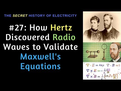 How Heinrich Hertz Discovered Radio to Validate Maxwell's Equations