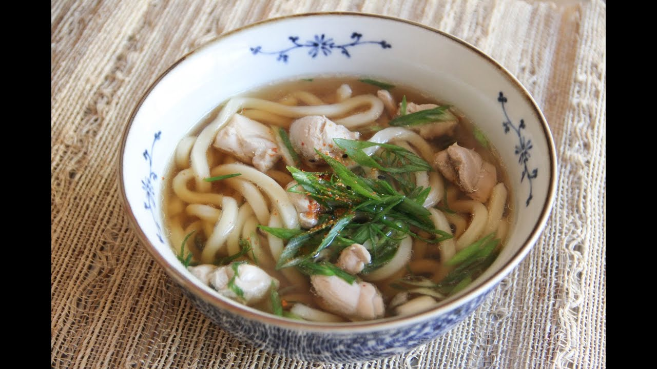 Chicken udon recipe japanese cooking 101 youtube forumfinder Choice Image