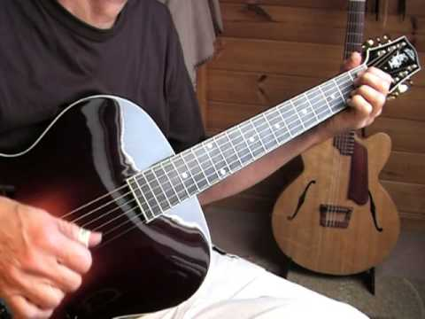 the loar lh700vs archtop guitar gypsy etude 3 youtube. Black Bedroom Furniture Sets. Home Design Ideas