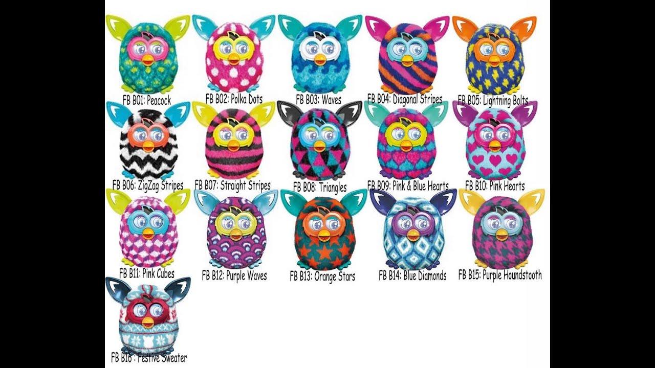 Furby Boom Diagonal Stripes by Furby Hasbro
