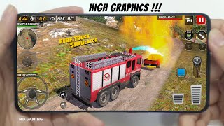 🔥Top 5🔥Realistic Fire Engine Simulator Games For Android&iOS 2021 - fire truck simulator- MD Gaming screenshot 4